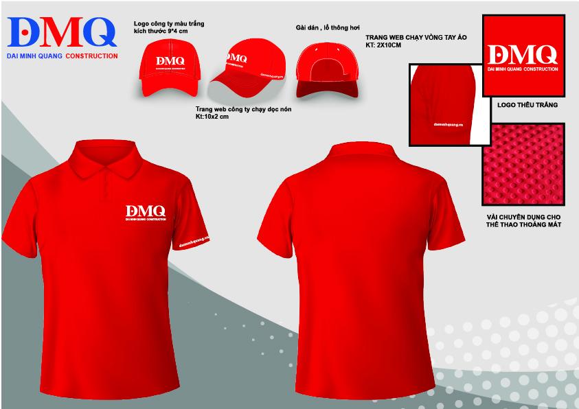 Ảnh thiết kế ĐP - áo TENIS Đại Minh Quang