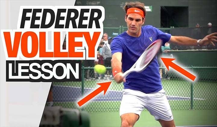 Kỹ thuật volley trong tennis
