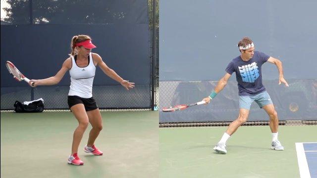 Kĩ thuật thả vợt trong tennis