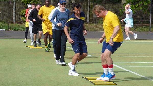 Bài tập giúp tăng khả năng bứt tốc khi chơi tennis