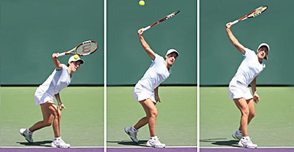 4 Bước di chuyển khi chơi tennis