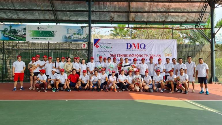 Giải Tennis mở rộng TP. Tân An tranh cup Đại Minh Quang Lần 1