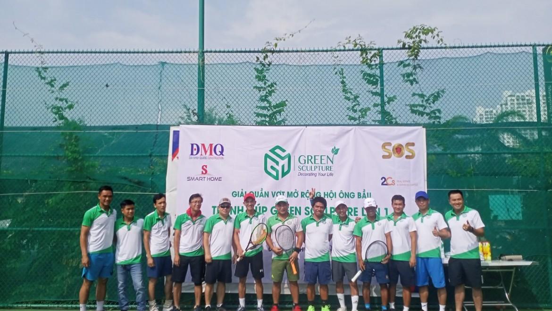 Giải Tennis Mở Rộng Hội Ông Bầu Tranh Cup Green Sculpture Lần 1