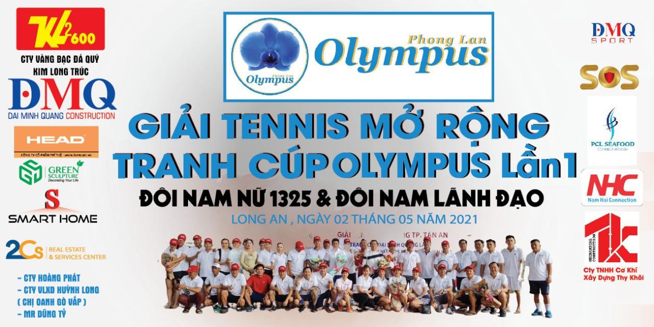Giải Tennis mở rộng tranh cup Olympus Lần 1