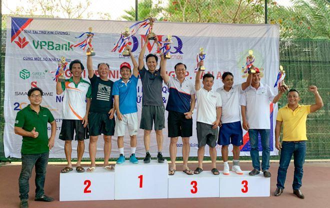 Các tay vợt đoạt giải lãnh đạo